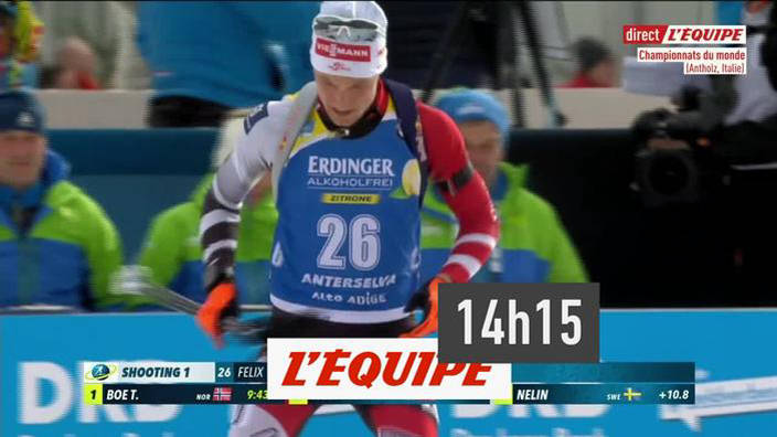 Biathlon : Individuel Hommes - Championnats du
