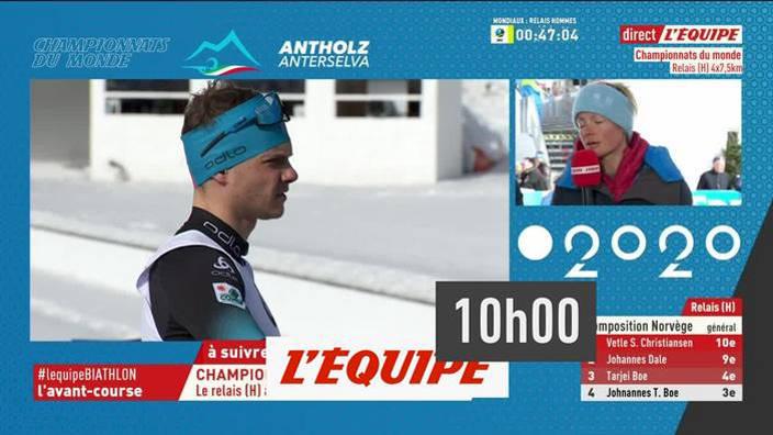 Biathlon : relais Hommes des Championnats du