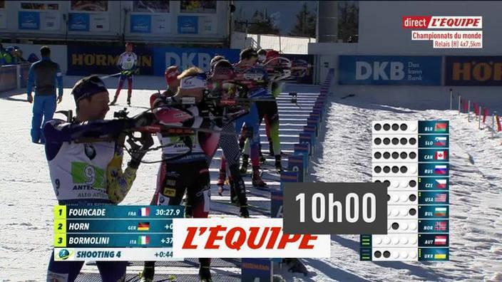 Biathlon : Relais Hommes - Championnats du