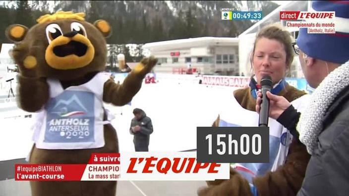 Biathlon : Mass-start femmes des Championnats