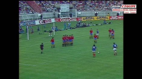 Foot - Replay : France - Espagne (1984)