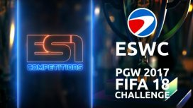 image du programme ESWC PARIS GAMES WEEK 2017