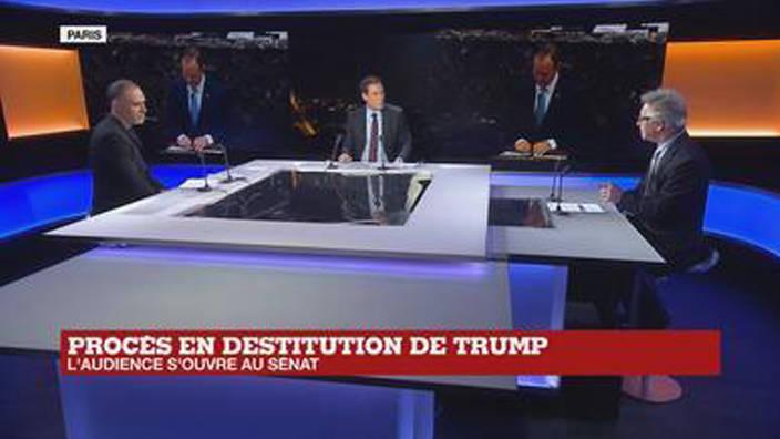 Procès en destitution de Trump : l'audience