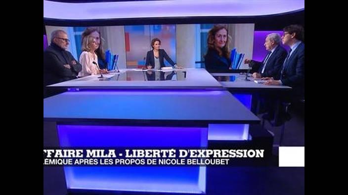 Liberté d'expression : les propos de N. Belloubet