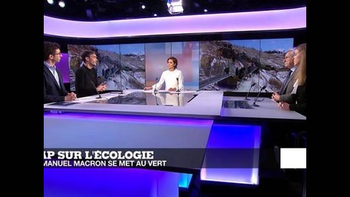 Emmanuel Macron au Mont Blanc : un tournant vert