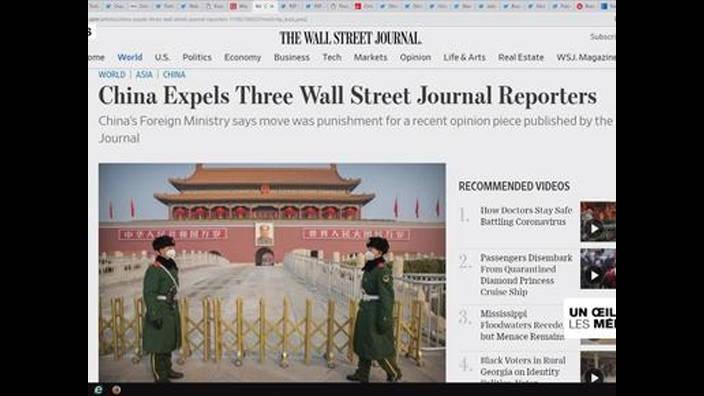 Chine - États-Unis : la presse, nouveau front