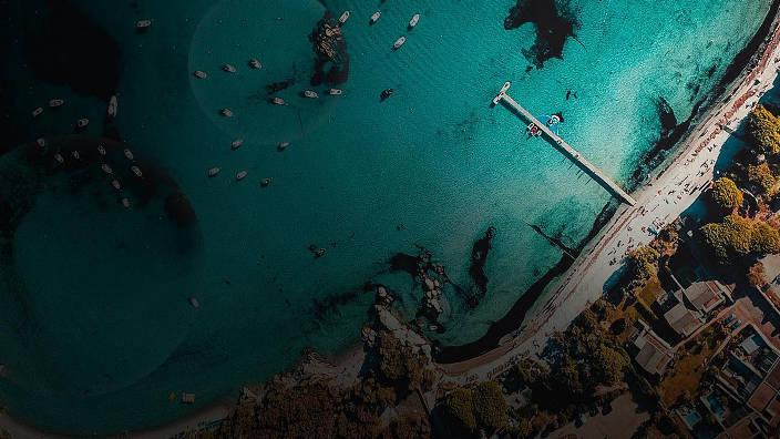 Bonifacio, une falaise naturellement fortifiée