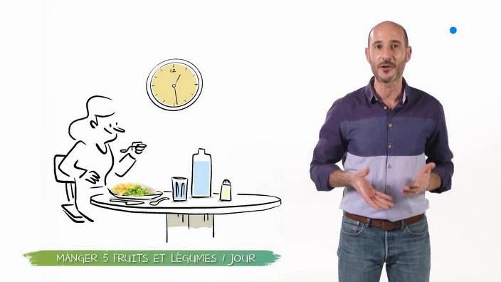 Manger cinq fruits et légumes par jour