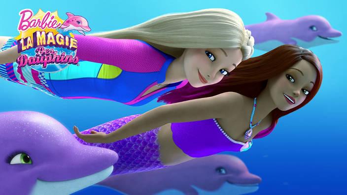 Image du programme Barbie la magie des dauphins