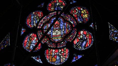 Saint Louis, à la lumière de la Sainte Chapelle