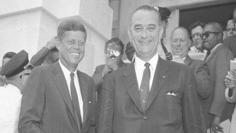 JFK & LBJ l'Amérique en marche