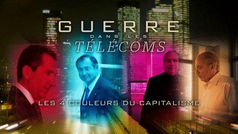 Guerre des Télécoms, 4 couleurs du capitalisme