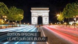 image du programme Édition spéciale - Le retour des Bleus