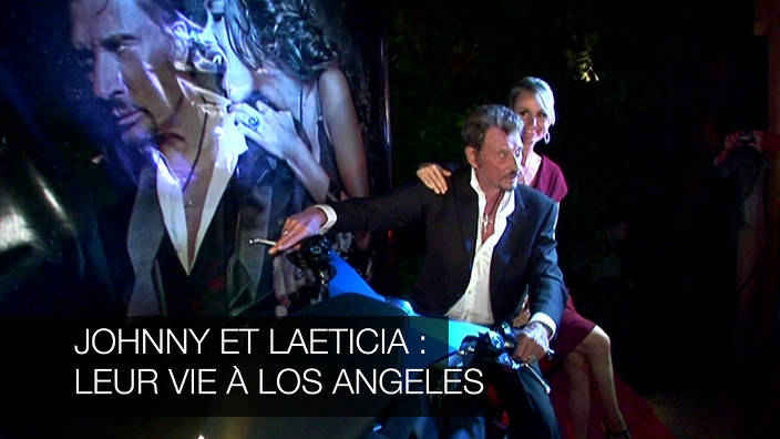 Johnny et læticia : leur vie à los angeles