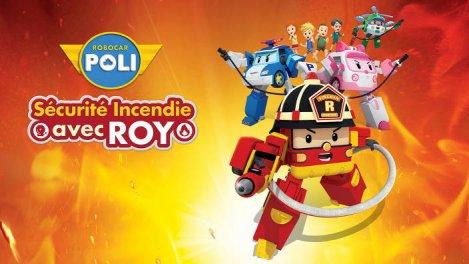 Robocar Poli - Sécurité Incendie avec Roy