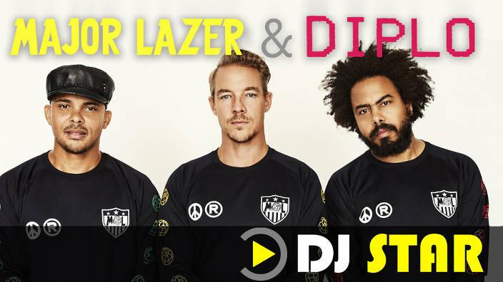 Dj star : diplo & major lazer du 04/01/2020