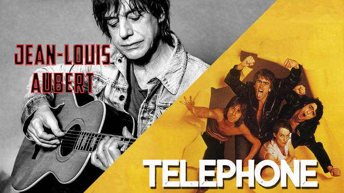 Telephone & jean-louis aubert du 30/01/2020
