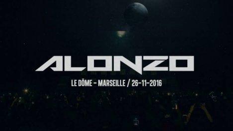 Alonzo en concert au Dome de Marseille en 2016.