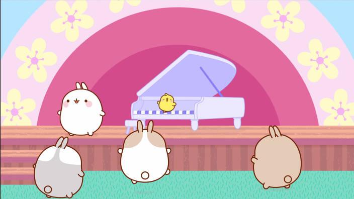 Molang - Le piano