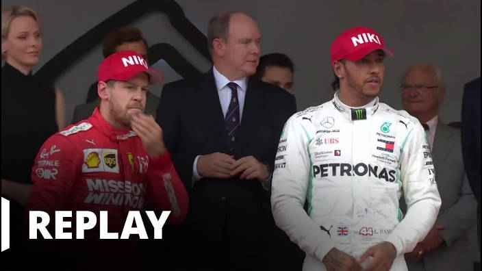 Formule 1 - Podium 1