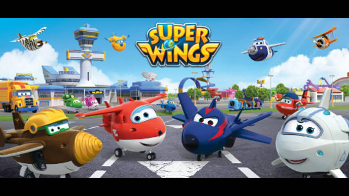 Super Wings - 7. Le dessin géant