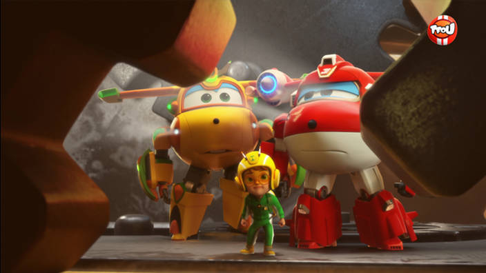 Super Wings - 424. La plus vieille horloge du