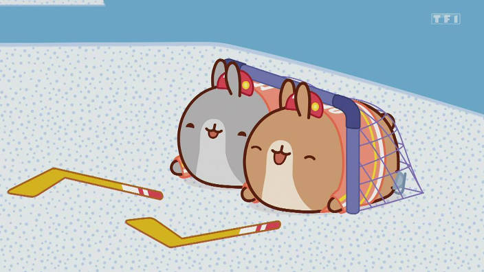 Molang - 30. La partie de hockey