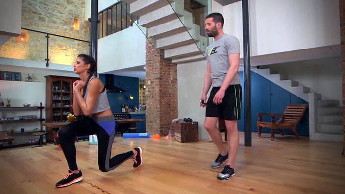 Circuit cardio training