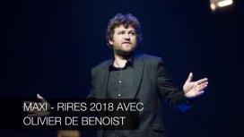 image du programme Maxi-rires 2018 avec Olivier de Benoist