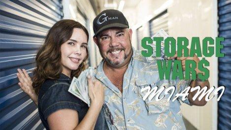 Storage wars : enchères à Miami