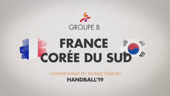 Handball Championnat du monde Féminin - Tour