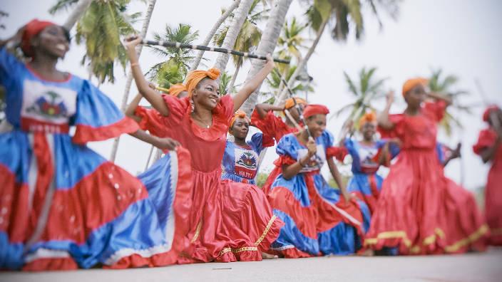 Haïti l'île aux masques