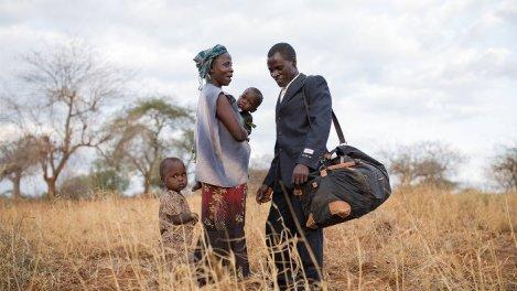 Kisilu et la pluie - Un agriculteur face au