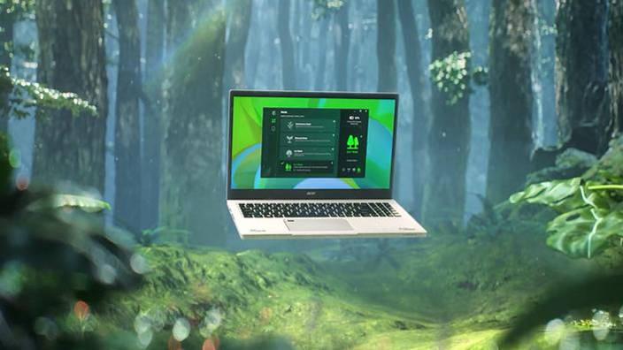 Acer lance une gamme de PC en plastique recyclé
