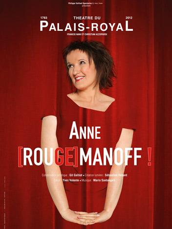 Anne Roumanoff - Rougemanoff !