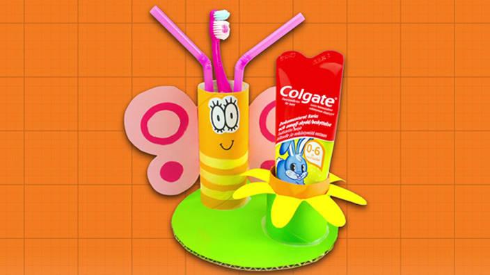 Borboleta da Escova de Dentes