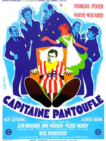 Capitaine pantoufle