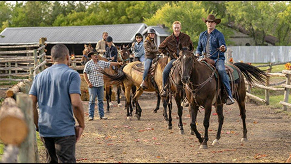 Coup de foudre au ranch