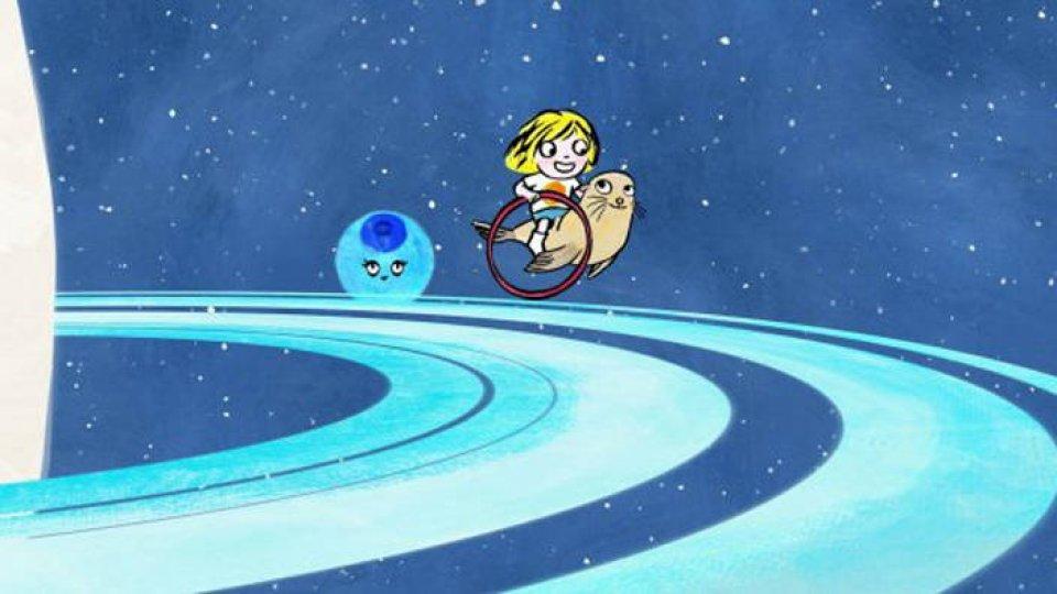 Dans les anneaux de Saturne