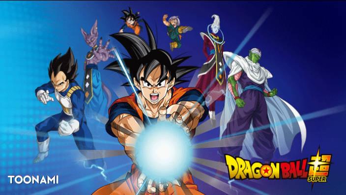 Duel chez Maître Kaio. Goku contre Beerus le Dieu
