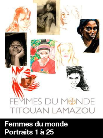 Femmes du monde - Portraits 1 à 25