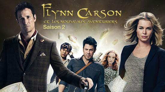 Flynn Carson et les nouveaux aventuriers - S02
