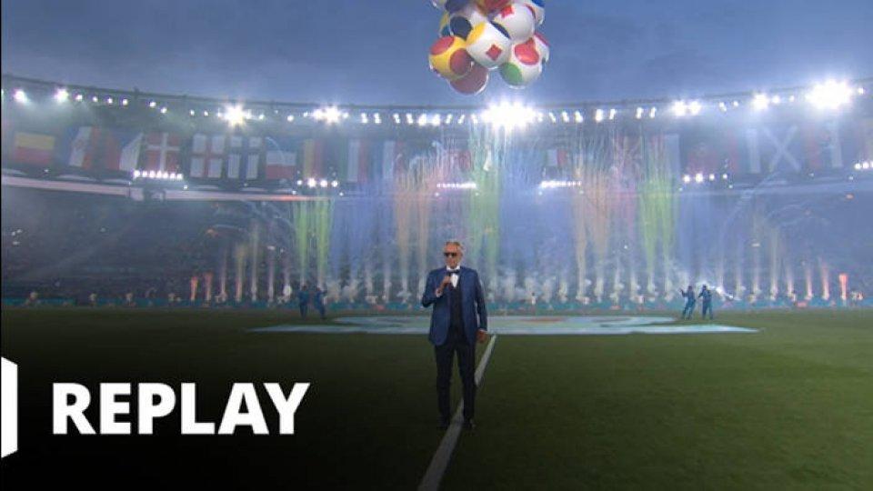 Football - EURO - Cérémonie d'ouverture