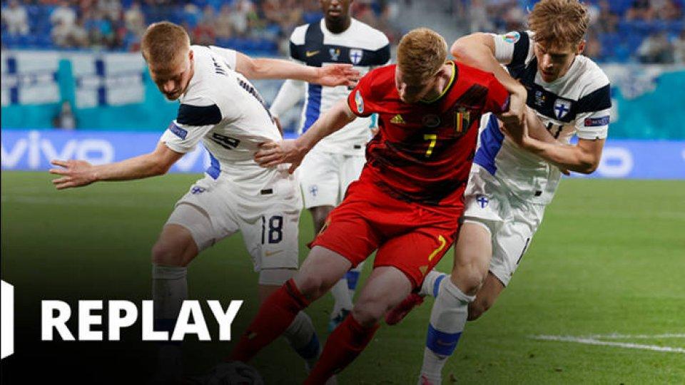 Football - EURO - Finlande / Belgique