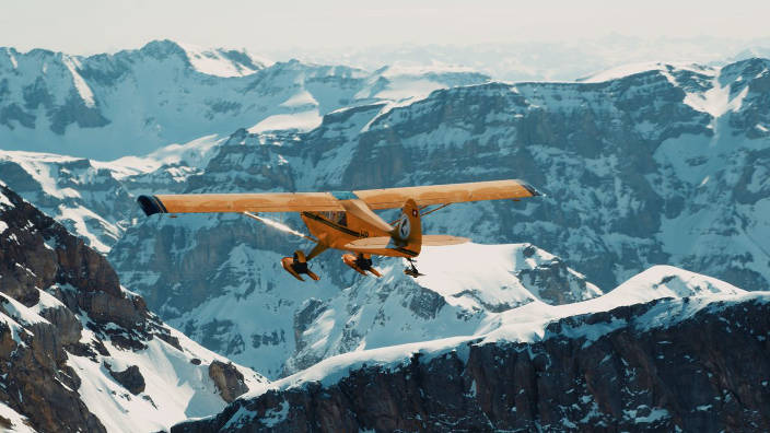 GEO Reportage - Suisse, en vol avec des pilotes