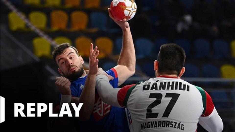 Handball Championnat du monde masculin - 1/4