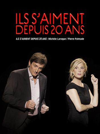 Ils s'aiment depuis 20 ans - Michèle Laroque et Pierre Palmade