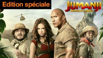 Jumanji : bienvenue dans la jungle - édition spéciale