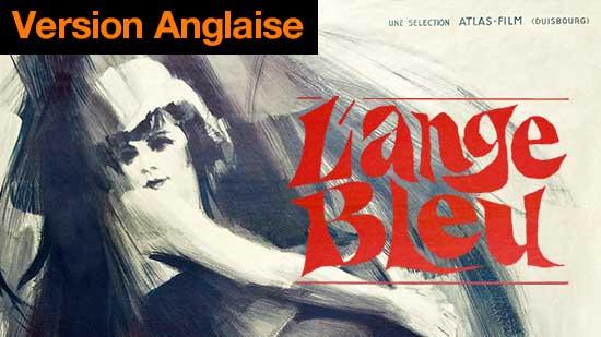 L'ange bleu - (version alternative : anglaise)