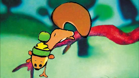 L'écureuil qui voyait tout en vert